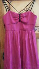 Stunning BETTINA LIANO ladies deep pink evening dress (size 10) BNWT