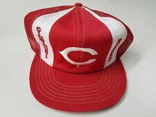 Vintage Cincinnati Reds Snapback Hat! Truckers Mesh..Attic Find..Pete Rose..