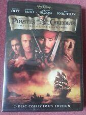 """Pirates Of The Caribbean """"The Curse Of The Black Pearl"""" 2 DVD Collectors Set NEW"""