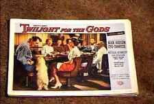 TWILIGHT OF THE GODS 1958 LOBBY CARD #8 ROCK  HUDSON