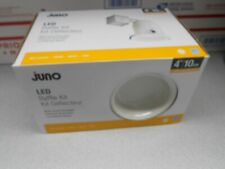 Lot 6 Juno White LED Remodel New Construction Recessed Light Kit Opening: 4-