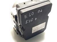 BMW E60 E61 5er ABS Steuergerät hydraulikblock 34516777797 6777797 ECU # 6777799
