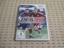 Pes 2010 Pro Evolution Soccer para Nintendo Wii y Wii U * embalaje original *