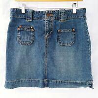 Size 6 Denim Skirt Womens Blue Jean Skirt Short Old Navy