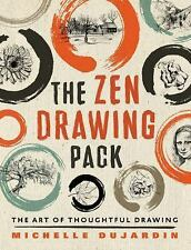 The Zen Drawing Pack: The Art of Thoughtful Drawing, Dujardin, Michelle, Good Bo