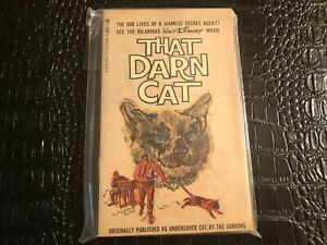 1965 That Darn Cat-Disney Movie Vintage Paperback Book  - nice shape