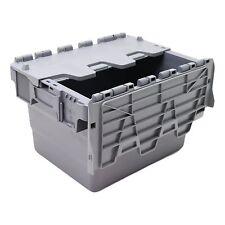 22L Heavy Duty Industrial Plastic Storage Distribution Box Boxes & Attached Lids