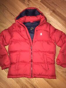 NWT $155 Polo Ralph Lauren Boy's Down Jacket sz XL(18-20)