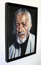 "SUPERB SIMON KIRK ORIGINAL  ""Alec Guinness"" PORTRAIT PAINTING"