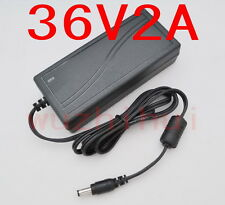 AC 100V-240V Converter Adapter DC 36V 2A 72W Power Supply Charger DC 5.5mm New