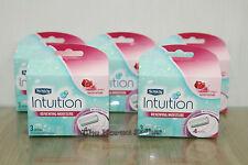 Schick Intuition Renewing Moisture Women Razor Refill Cartridges 15-Count