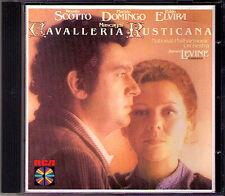 MASCAGNI CAVALLERIA RUSTICANA Domingo Scotto Levine CD Placido Renata James RCA