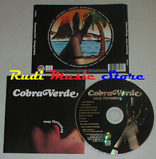 CD COBRA VERDE Easy listening 2003 SCAMCITY MTR06 lp mc dvd