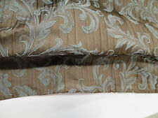 Mitchell Fabrics Queen Duvet Cover Auvergne Color Mocha  86.5 In x 95.5 In
