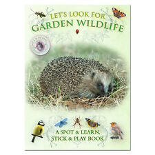 Lets Look for Garden Wildlife Nature Spotter Sticker Activity Book
