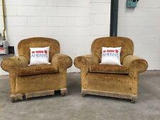 Chesterfield Velvet Armchairs