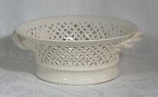 Vintage Royal Creamware 'Originals' Fine China Round Reticulated Fruit Basket