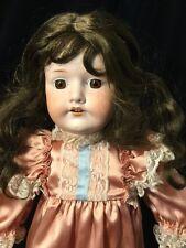 """C.M. Bergmann Waltershausen 1916 10 25"""" Antique Doll"""