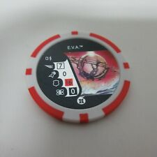 Marvel HeroClix E.V.A. Poker Chip Convention Exclusive Limited Edition