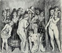 1968 NORMAN LINDSAY SELECTED PEN DRAWINGS 60 FULL PAGE PLATES FREE EXPRESS w/w