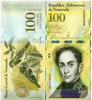 100000 Venezuela / Venezuela 100000 Bolivares Banknotes 2017 UNC.
