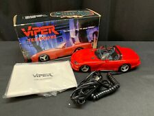 "Novelty Telephone ~ Telemania ""VIPER"" Red ~ 1994 ~ w/Box"