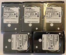 Used Toshiba (MQ04ABF100) Laptop Hard Disc Drive - 1TB Lot of 5 HDD