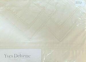 VES DELORME Paris Parure Nacre (Ivory) 4-Piece Queen Bed Sheet Set BNIP