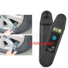 MISURATORE ELETTRONICO DIGITALE PRESSIONE PNEUMATICI AUTO MOTO BICI DISPLAY LCD