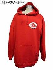Cincinnati Reds MLB Majestic Men's Pullover Big Logo Hoodie A13