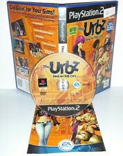 THE URBZ SIMS IN THE CITY - Ps2 Playstation Play Station 2 Gioco Game