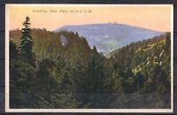 Ansichtskarte - Inselsberg - Thüringer Wald