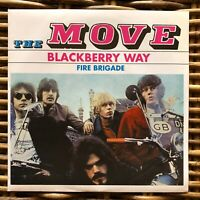 """THE MOVE Blackberry way Peace and Love promo 7"""" 45 giri vinyl Red Ronnie"""