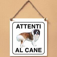 Moscow Watchdog 1 Attenti al cane Targa cane cartello ceramic tiles