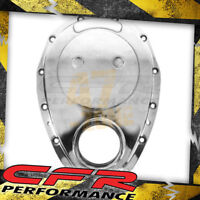Aluminum Chevy Sb 283-305-327-350-400 Timing Chain Cover - Polished