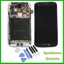 Per Samsung Galaxy S4 i9505 Blu LCD Display Vetro Touch Screen Schermo Telaio