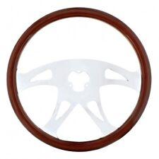 "UNITED PACIFIC 88218 - 18"" Chrome Steering Wheel - Boss"