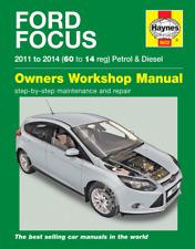 Haynes Manual Ford Focus Petrol&  Diesel 2011- 2014 (60-14) Hatchback Estate