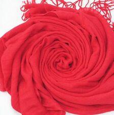 Idée cadeau accessoires de mode femme: Pashmina foulard étole écharpe - Rouge