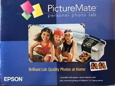 Epson PictureMate C11C556001 Digital Photo Inkjet Printer