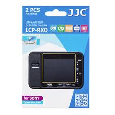 JJC LCP-RX0  polycarbonate LCD Film Screen Protector Sony RX0 RXO 2Pak