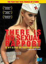 There is no Sexual Rapport/Il N'y A Pas de Rapport Sexuel (DVD, 2013)