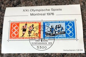 West Germany Stamps. 1976