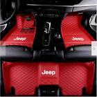 Suitable  For Jeep Wrangler 2008-2020 4-Door/2-DoorLuxury Custom Car Floor Mats