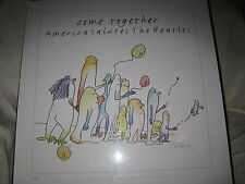 "Come Together America Salutes The Beatles Bag One John Lennon Print 23""X23"" 1995"