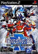 Used PS2 Real Robot Regiment   SONY PLAYSTATION JAPAN IMPORT