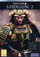 Total War Shogun 2 The Complete Edition  + Campaign & Content Packs   Brand New