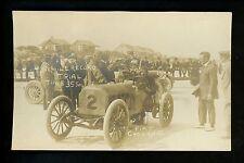 Car Auto Racing real photo postcard RPPC Ormond Daytona Beach FL Flat Cyclone