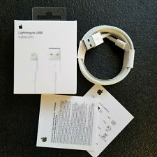 Genuine OEM Original Apple iPhone Lightning Cable Charger Cord USB 2M 6FT Sealed