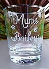 Personalised Engraved Baileys Tumbler Glass - New